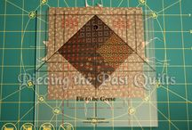 Quilting Tutorials / Tutorials on our Website