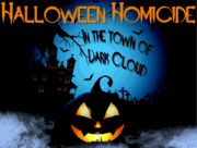 Halloween Homicide in the Town of Dark Cloud - Murder Mystery Party / An entertaining clue-based murder mystery party for 7-12+ guests ages 13 & up in an old mansion setting for Halloween. Play as co-ed, all female or all male - the characters are gender flexible! There are two characters that you can expand into teams to grow your invite list! Plus, an additional 8 character expansion pack is available to expand your invite list further!