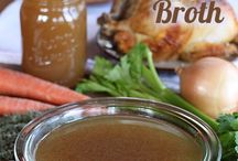 Nourishment - Broths, liquids and soups