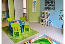 Playroom Ideas  / Got kids? Looking for a room in your house for them to play in? Here are some ideas...