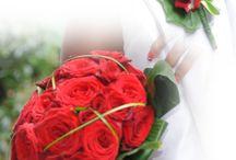 bruidsbloemen rood