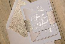 Wedding Inspiration : Gold
