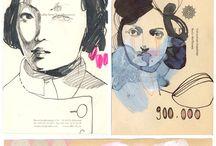 Tina Berning / Inspirational artwork, love everything about her work.