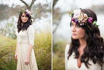 Rustic winter wedding / Deep earthy colours for warmth....and romance