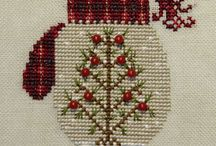 Cross Stitch Christmas clothes