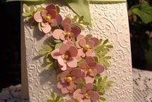 открытки с цветами (самоделошными)