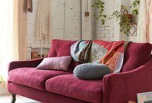 Colour trend   Marsala /  Pantone's Colour of the Year - Marsala. Interior Design, art, furniture and fashion inspiration