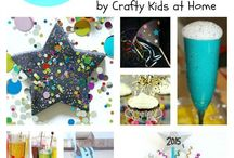 New Year's / Crafts, recipes, decor, and kids activities to celebrate New Year's Eve