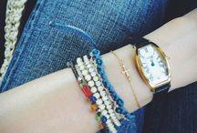 Wearing layer bracelets