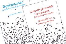 Boekplanner - 52 weken focus op je boek / Een planner voor het schrijven van je boek.