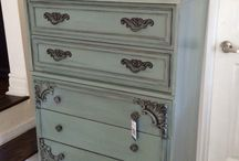 Re-Painted Furniture