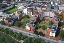 Den Haag, Maanplein / Transformatie, toevoeging van lichtgewicht balkons