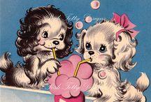 Kitsch illustration