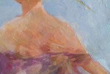 Imágenes / Trabajos sobre pintura de M.Téllez.