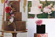 Hochzeitstorten / Es gibt sie: die wunderschönen, kreativen und leckeren Hochzeitstorten. Lass dich von meiner Sammlung inspirieren!