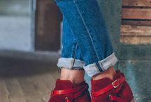 Cipő cipő hátán