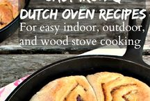 Cast Iron & Dutch Oven Cooking