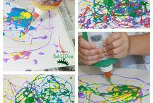 Kids Crafts / by Carey Blair
