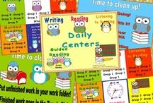 Literacy centers/literature circles / by Cindy Leonard