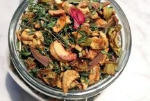Dried Herbs and Teas