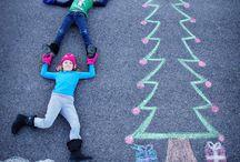 PHOTOGRAPHY - {sidewalk Chalk idea}