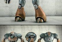 The Robot / Everything robot, mecha, cyber, etc.