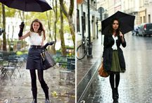 Snowy and Rainy Day Outfits / Outfit ideas for bad weather / by Stylebook Closet App