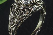 Антикварные кольца
