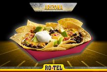 Not yo' Nachos / Recipes for all 12 football playoff cities!
