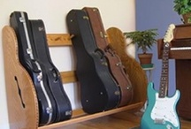 Guitar Case Storage Racks / Here's a sampling of some of #guitar case storage racks we sell at https://www.guitarstorage.com/guitar-case-storage-racks. All products are MADE IN THE USA!!!