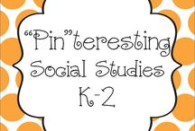 """Pin""teresting Social Studies K-2 / Pin your Social Studies K-2 pins here! / by Hanging Out In First"