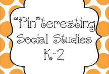"""""""Pin""""teresting Social Studies K-2 / Pin your Social Studies K-2 pins here!"""