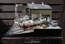 Dioramas - Satoshi ARAKI
