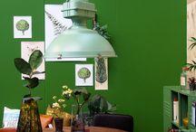 Groen wonen interieurs / Groen wonen is dé woontrend voor 2016. De natuur in huis halen is hipper dan ooit. En wat past daar nou beter bij dan natuursteen?