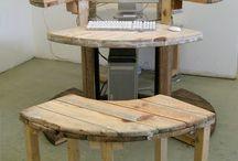 FURNITURE - Cable Drum furniture