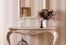 Armonie Collection Romantic Style / A unique style declined in three moods of living. Pastel colours, natural essences and metropolitan accents are linked to images and memories of a past that still has much to tell...