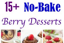 No-Bake Recipes / Recipes that require no baking or cooking