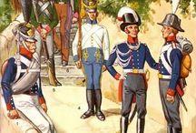 Napoleonics wars uniforms