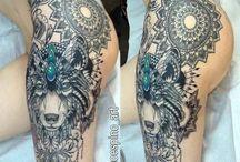 Tatuajes de muslos
