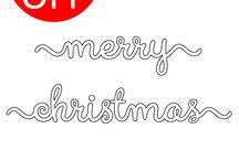 Stanzen: Winter & Weihnachten / Christmas/winter framelits
