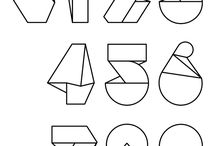Typography - numbers