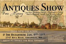Antiques Shows / Different antiques shows I participate in!