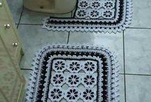 Jogo banheiro croche