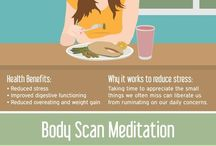 Meditation and Mindfulness / Benefits of meditation, How to Meditate, Ideas for being Mindful when you don't meditate!