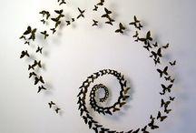 Schwarze Schmetterling