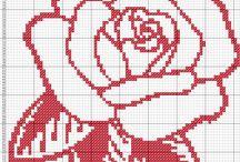 flores y dibujos