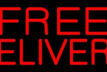 Free Delivery Neon Signs