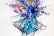 Vibrant Art
