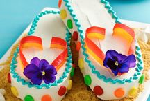 bags/shoe cakes