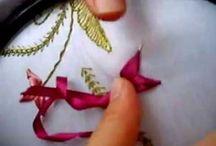 kurdele nakışı yıldız çiçeği